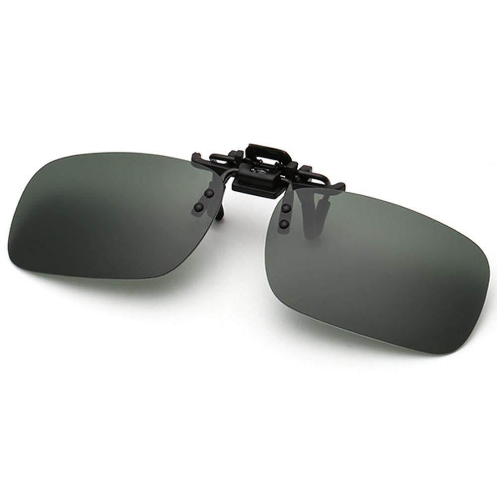 Kacoo Lensa Terpolarisasi Klip Klasik Pada Kacamata Hitam, [Anti Glare] [UV Perlindungan