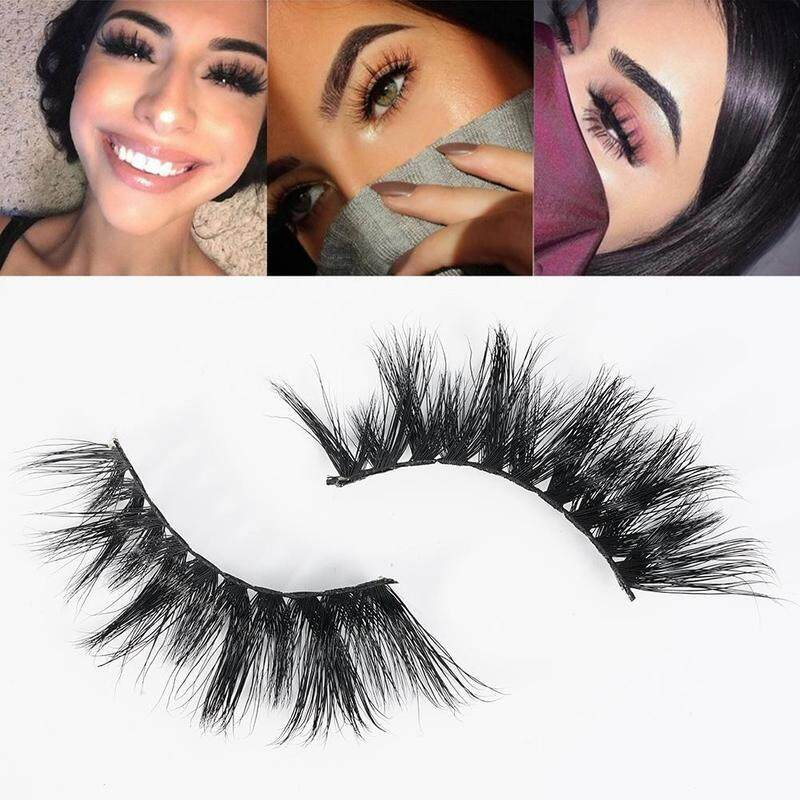Beauty Handmade Thicker Longer 3d Fake Eye Lashes Black False Eyelashes Natural Cross Lashes Faux Cils By Funny Face.