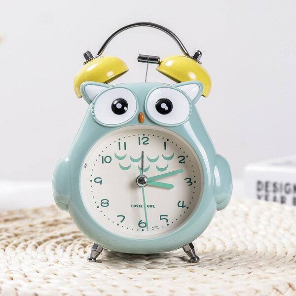 Đồng hồ báo thức nhỏ dành cho trẻ em nữ hoạt hình sáng tạo học sinh tiểu học với báo thức đồng hồ dễ thương đồ trang trí phòng ngủ cô gái cá tính lười biếng bán chạy