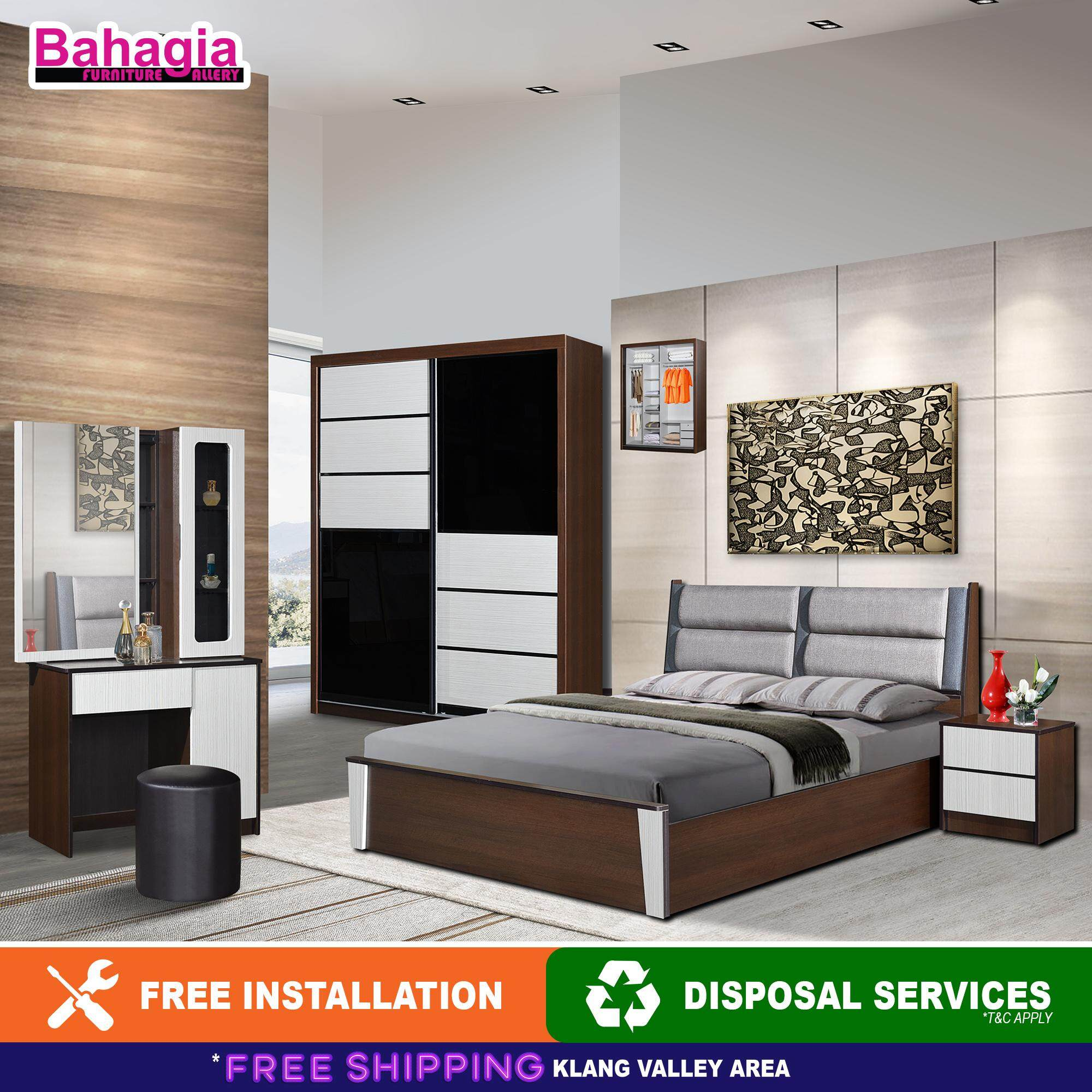Bahagia Fusse Bedroom Set By Bahagia Furniture Gallery.