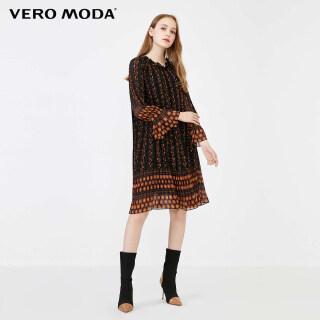 Vero Moda Đầm Tay 3 4 Có Dây Buộc Họa Tiết Hoa 31937C543 thumbnail