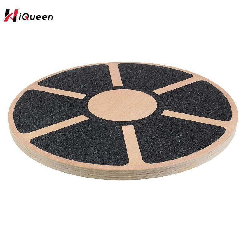 Bảng giá HiQueen Wooden Balance Board Plate Yoga Balancer Anti-skid High Level Training Balance Gym Board Exercise Fitness Equipments Accessories