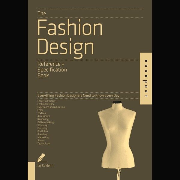The Fashion Design Reference Specification Book Lazada