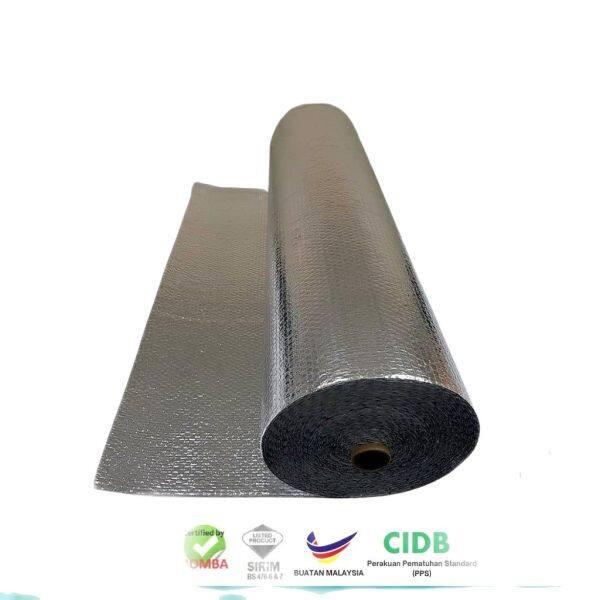Poly-Pac 1M (L) | Foil Laminate Aluminium Foil Bubble Foil Reflective & Roofing Insulation