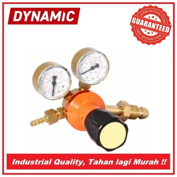 DYNAMIC LPG Regulator complete with Inlet Nut