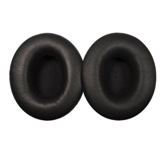 1คู่�ผ่นรองหูหูฟัง�ผ่นรองหูฟังฟองน้ำนุ่มเบาะโฟมถ้วยสำหรับหูฟังMonsterรุ่นBeatsโดยDr Dre Solo & โซโลHDหูฟัง
