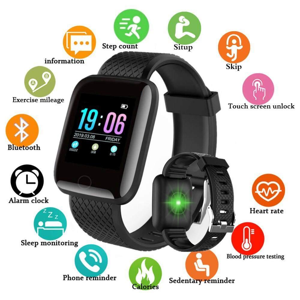 Giá Bluetooth Thông Minh Nam Huyết Áp Đồng Hồ Thông Minh Smartwatch Nữ Nhịp Tim Theo Dõi Thể Thao Dành Cho Android IOS