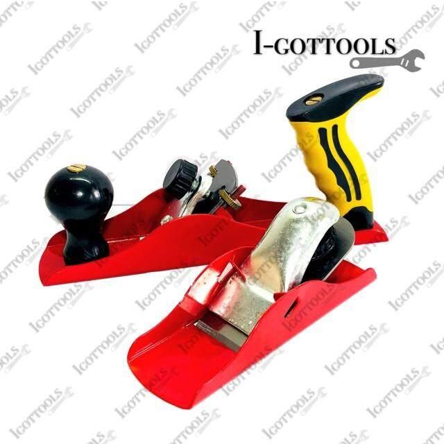 2 PIECE Wood Planer Set Hand Tool Block Plane & Smoothing Plane Wood Working