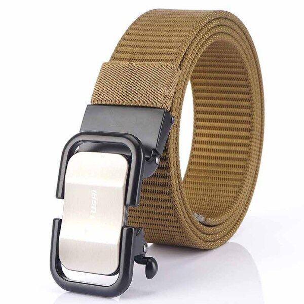 Thắt lưng nam chất vải nylon chắc chắn có khóa kéo tự động Medyla cao cấp