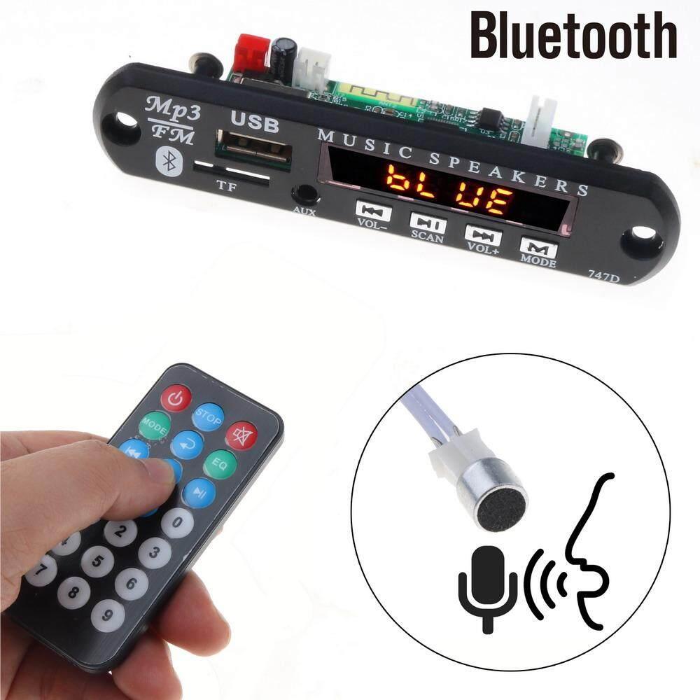 MP3 Pemain Decoder Papan TF Radio FM USB 3.5 Mm AUX Audio Handfree Juga  Mobil Kit a99090037c
