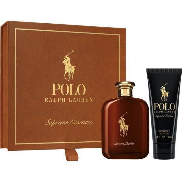 ORIGINAL Ralph Lauren Polo Supreme Leather EDP 125ML Perfume Gift Set