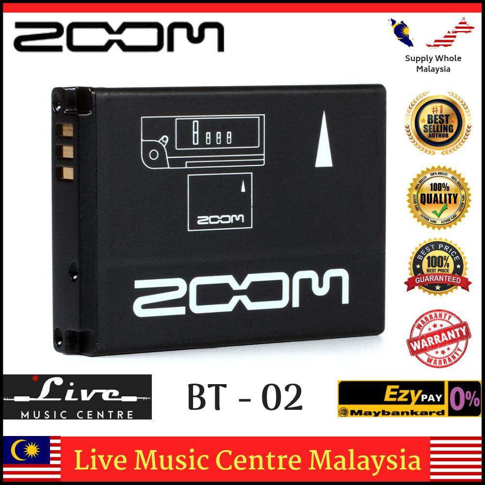 Zoom BT-02 Rechargeable lithium-ion battery for Zoom Q4 BT02 Malaysia