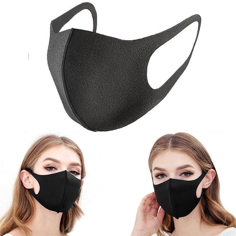 Mudah Dicuci Earloop Masker Bersepeda Anti Debu Masker Wajah Mulut By Cherful655.