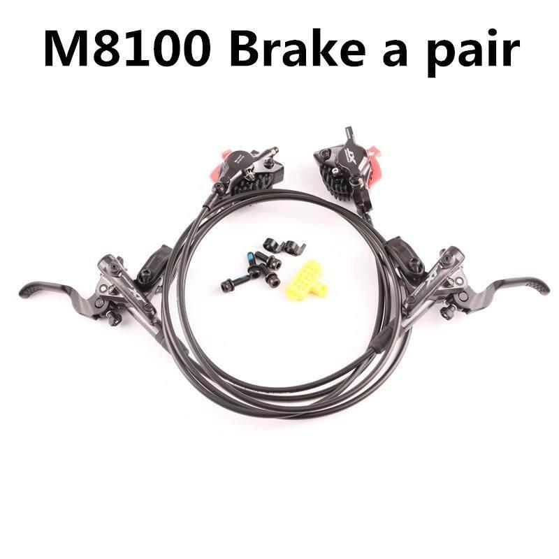 Mua Bộ Chuyển Động Shimano Deore XT M8000 M8100 Phanh Thủy Lực Bộ Băng Tech Tấm Làm Mát Mặt Trước Và Sau Cho MTB Xe Đạp Phần 800 /1500 Mm