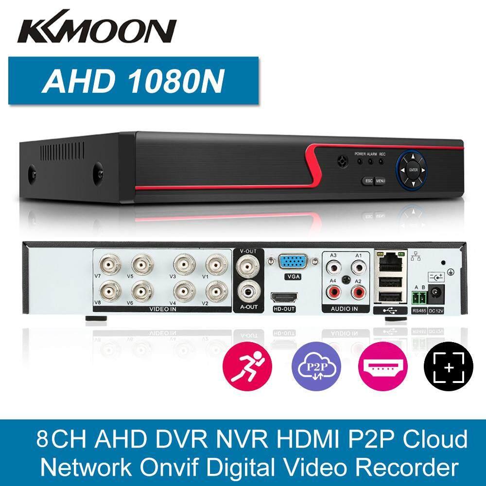 8CH 1080P Full ความคมชัดสูง AHD ไฮบริด/ONVIF IP/Analog/TVI/CVI/DVR กล้องวงจรปิดดิจิตอลเครื่องบันทึกวีดีโอ DVR p2P การตรวจสอบโทรศัพท์ระยะไกลสำหรับการรักษาความปลอดภัยสำนักงานที่บ้านชุดกล้อง (ไม่มี HDD) UK