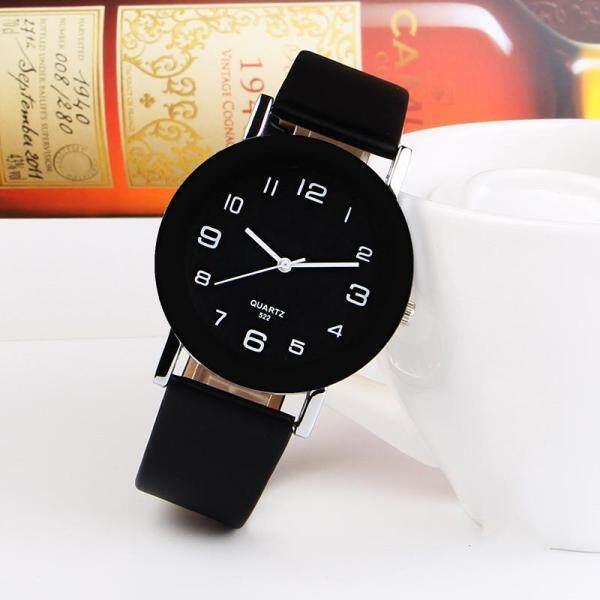 0duw Fashion Simple Leather Watch Women Casual Analog Quartz Wrist Watches Malaysia