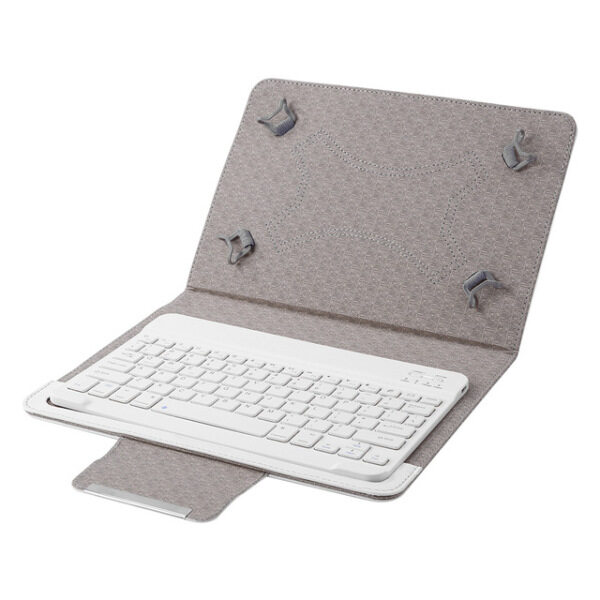 ✥ Classic Texture Multi functional Practical Wireless Bluetooth Keyboard for 9 10 inch Tablet PU Leather Case Cover Stand Malaysia