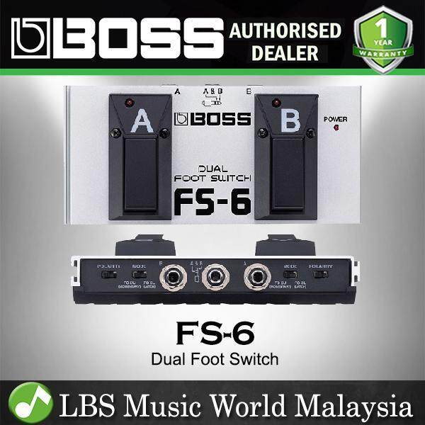 Boss FS-6 Dual Footswitch for Dual Momentary Latching Foot Switch (FS6 FS 6) Malaysia