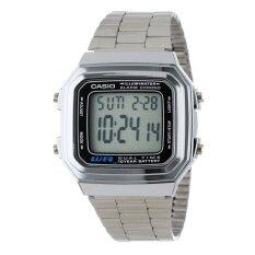 Casio A178WA-1A Watch Stainless Steel Malaysia
