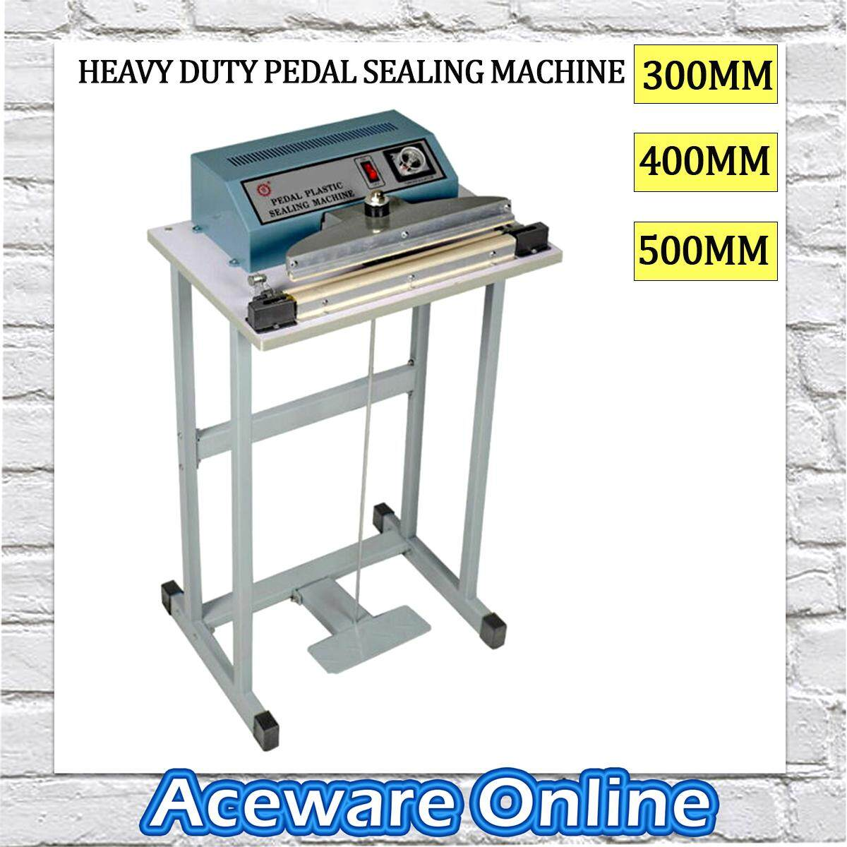 Step Sealer Machine Impulse Foot Sealer Pedal Machine Vertical Sealing Type Quick Packing In 3 Sizes For Industrial and Non-Industrial