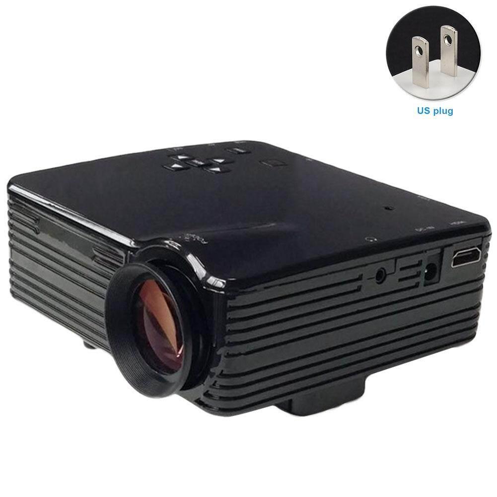 Video Máy Chiếu Phim Laptop Nhà Hát TIVI HDMI Mini LED Nguồn Nhà USB AV HDMI HD