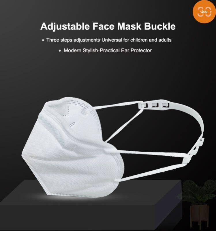[ Jeo 3C ] Ready Stock 3PCS/Set Ear protection Anti Lock Buckle Portable Handheld Ear Pain Prevention PE Flexible Material Unlimited Reuse No Allergy Comfortable Easy To Bring For Kids And Adults