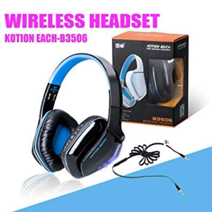 1d44c236964 KOTION EACH B3506 Wired Wireless Bluetooth 4.1 Professional Gaming  Headphones for PS4,Wireless Headsets for
