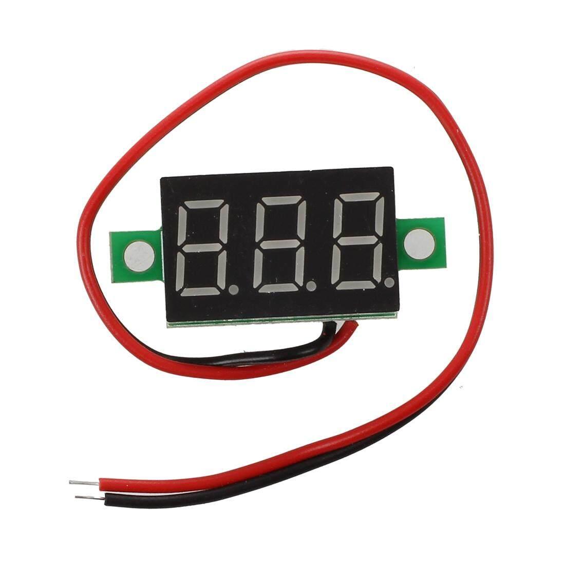 LED Mini Voltmeter digital voltage display panel meter 4.7-32V DC