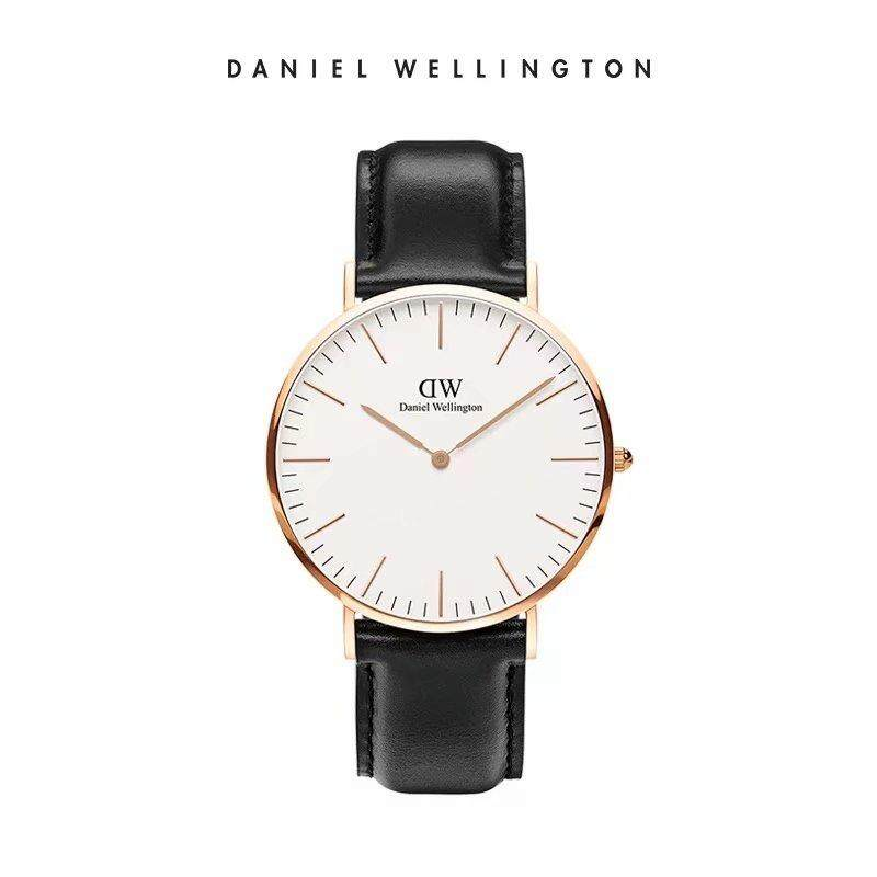 DW Original Watch CLASSIC SHEFFIELD-36MM Rose Goid surface Black watchband Ready stock Malaysia