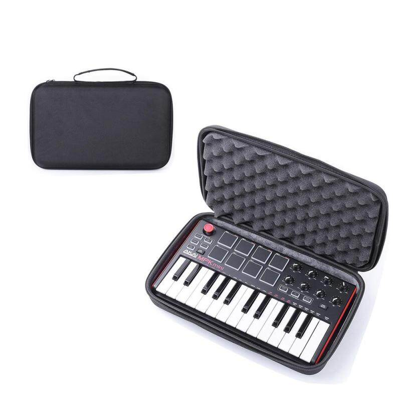 OrzBuy Protective Case Compatible With Akai MPK Mini Keyboard, EVA Travel Hard Carrying Case With Sponge Anti-pressure Waterproof Storage Pouch Bag Protective Case For Mpk Mini Play Malaysia