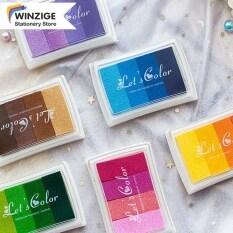 Winzige Gradient Thủ Công Nhiều Màu Sắc Màu Mực Signet Cho Tem