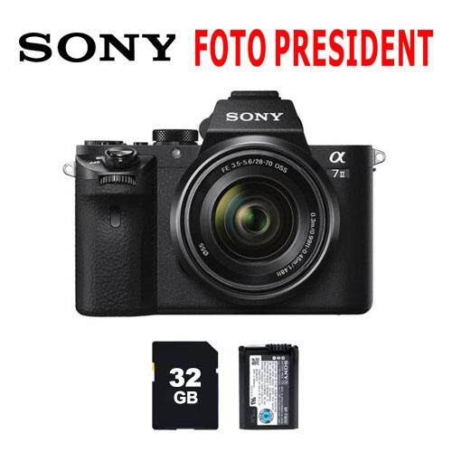 SONY ILCE-7M2K + 32GB + Extra Ori Battery