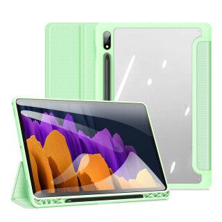 Bao Da Máy Tính Bảng, SM-T870 Cho Samsung Galaxy Tab S7 11 2020 SM-T875 Đánh Thức Giấc Ngủ Thông Minh T870 T875 Với Hộp Đựng Bút Chì Giá Đỡ Gấp Ba Mặt Sau Trong Suốt thumbnail