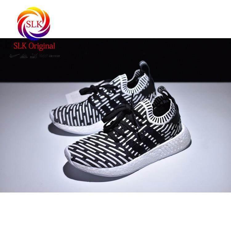 03b6058da SLK ☆ C M Ready Stock 2018 New Adidas NMD R2 Primeknit Running Shoes Men