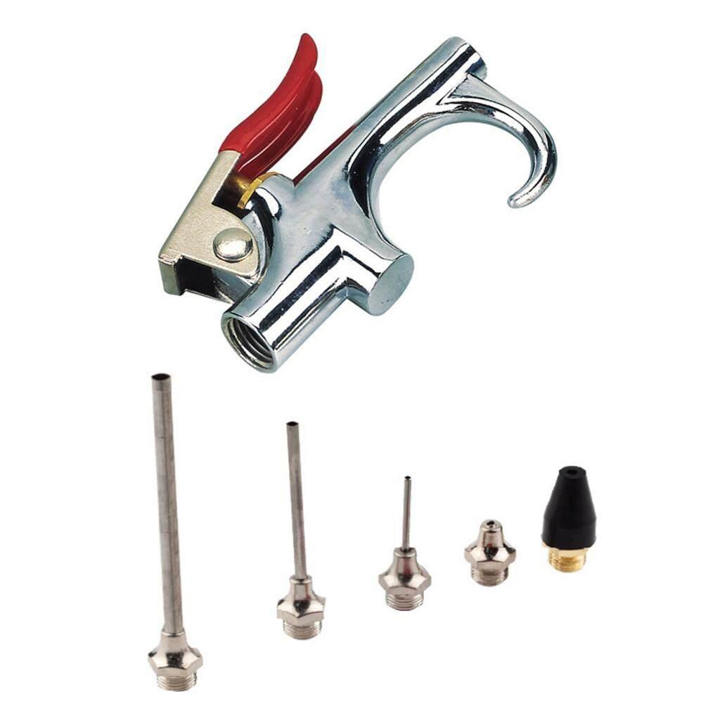 Blesiya Air Blow Gun Kit Air Compressor Nozzle Tip Needle Inflation Blower Air UpTip