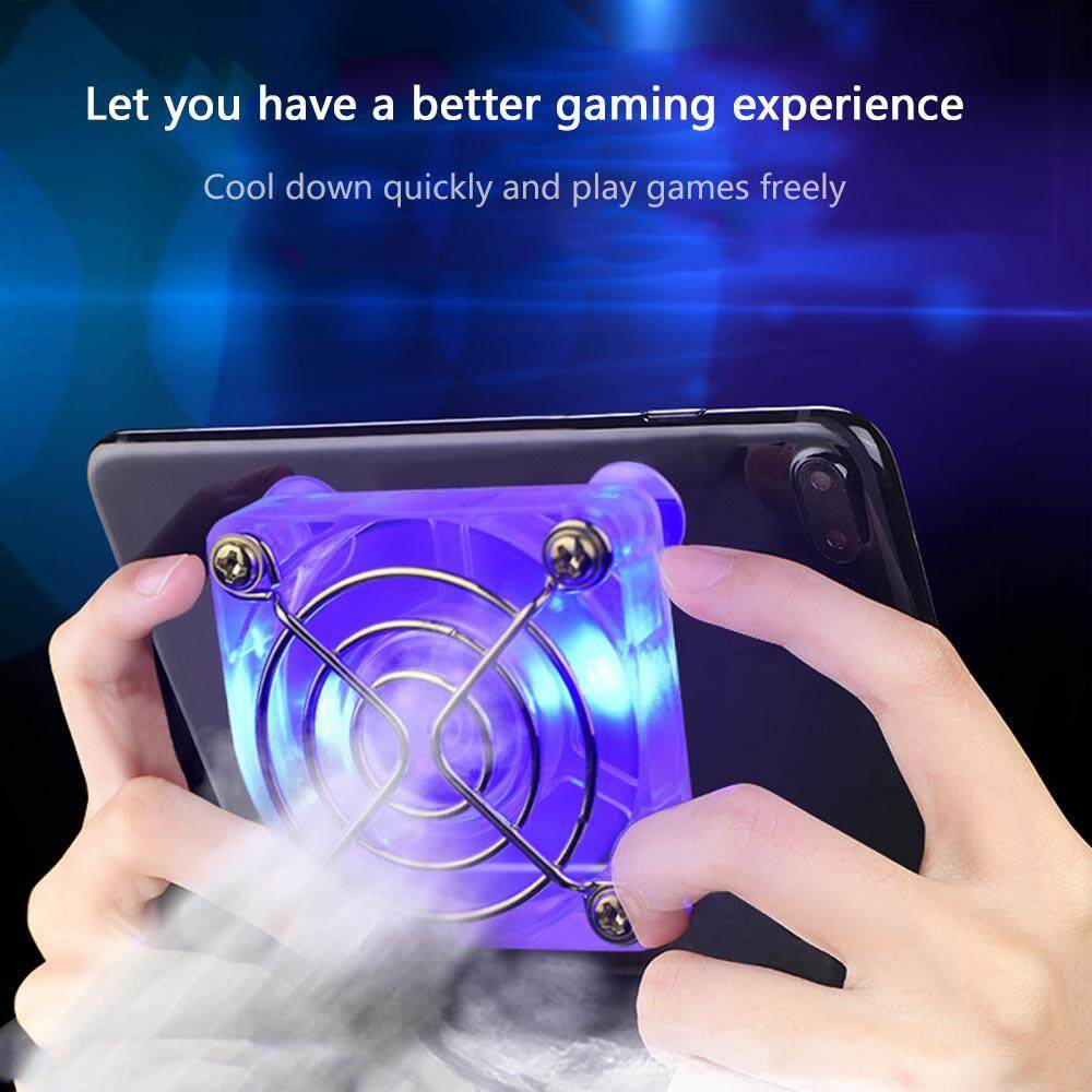 Oceancity Fan Holder Portable Adjustable Tablet Gamepad Rapid Radiator  Controller Gaming Phone Cooler Rechargeable Cooling Pad Universal USB  Heatsink