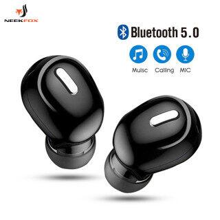 Tai Nghe Bluetooth Mini Trong Tai 5.0 Tai Nghe Không Dây HiFi Có Mic Tai Nghe Thể Thao Tai Nghe Âm Thanh Nổi Rảnh Tay Dành Cho Mọi Điện Thoại thumbnail