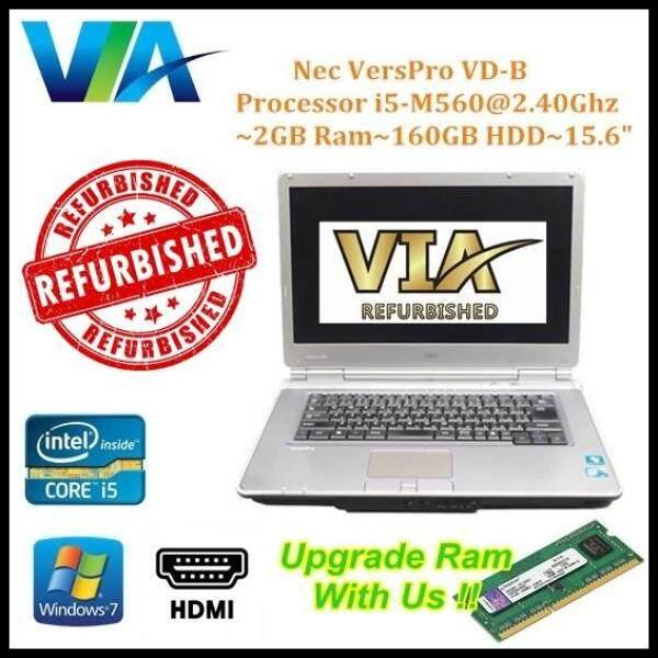 (Free Mouse) HDMI Nec VersaPro VD-B~CI5~2Gb Ram~160Gb HDD~15.6 Malaysia
