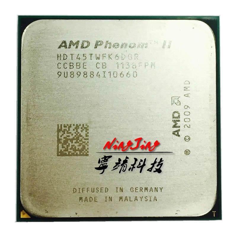 AMD Phenom II X6 1045T 1045 2.7 GHz six-core CPU Processor HDT45TWFK6DGR Socket AM3 XT Store