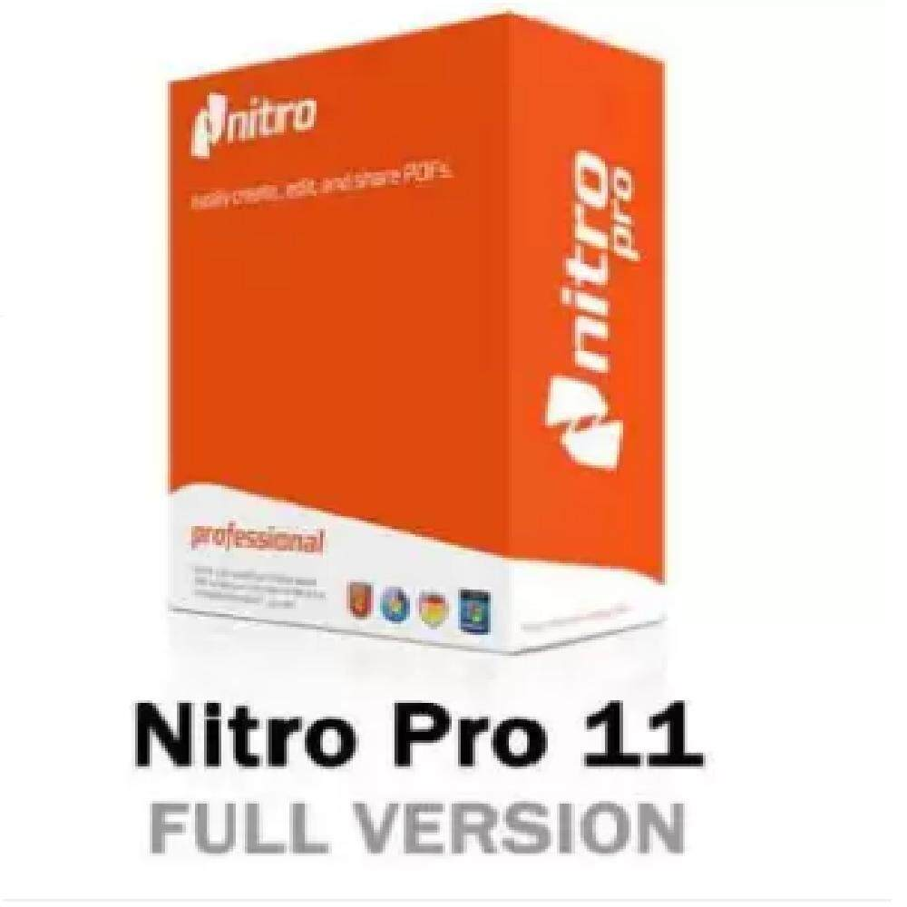 Nitro Pro 11 Pdf Reader Creator Editor Full-Version License Key By Good It Deals.
