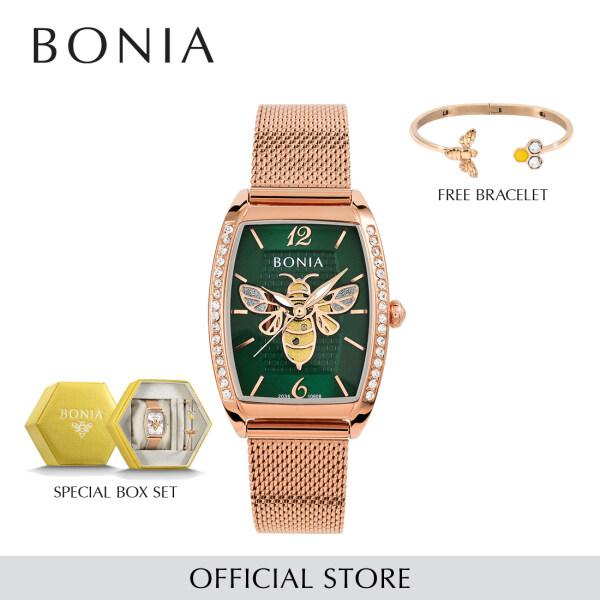Bonia Elegance Women Watch & Jewellery Set BNB10608-2595S (Free Gift) Malaysia