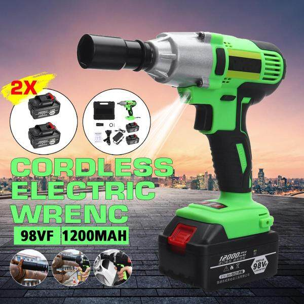12000mAh 988VF 320N.m LED Lighting Rechargeable Brushless Cordless Electric Impact Wrench