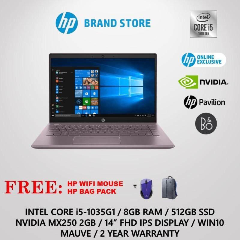 Hp Laptop Pavilion 14 Ce3052tx I5 8gb 512gb Mx250 Mauve Online Exclusive Malaysia