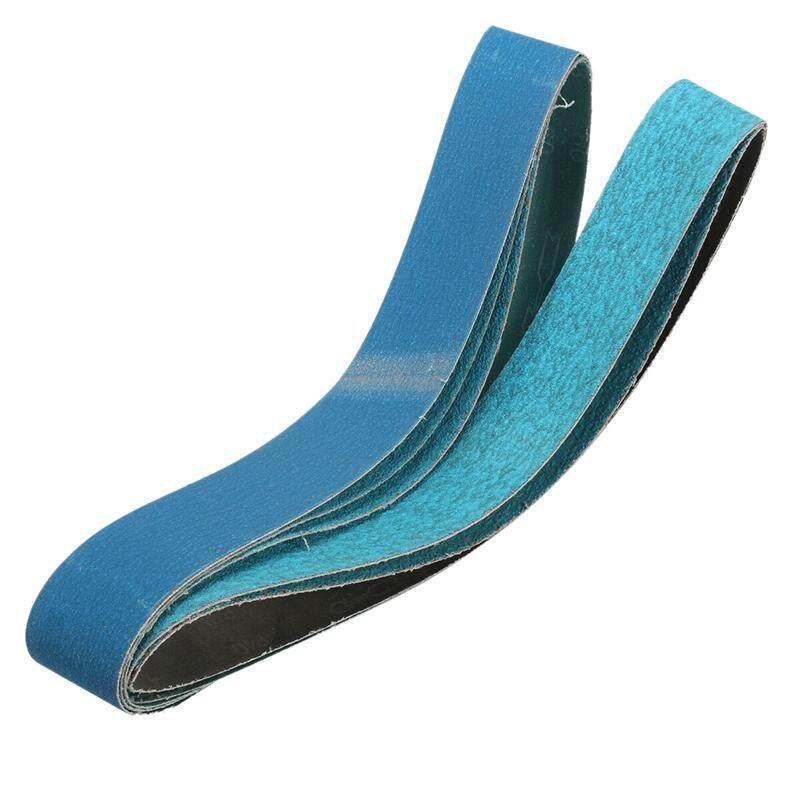 5Pcs 2x36 Inch Metal Grinding Zirconia Sanding Belts 40, 60, 80, 120 Grits