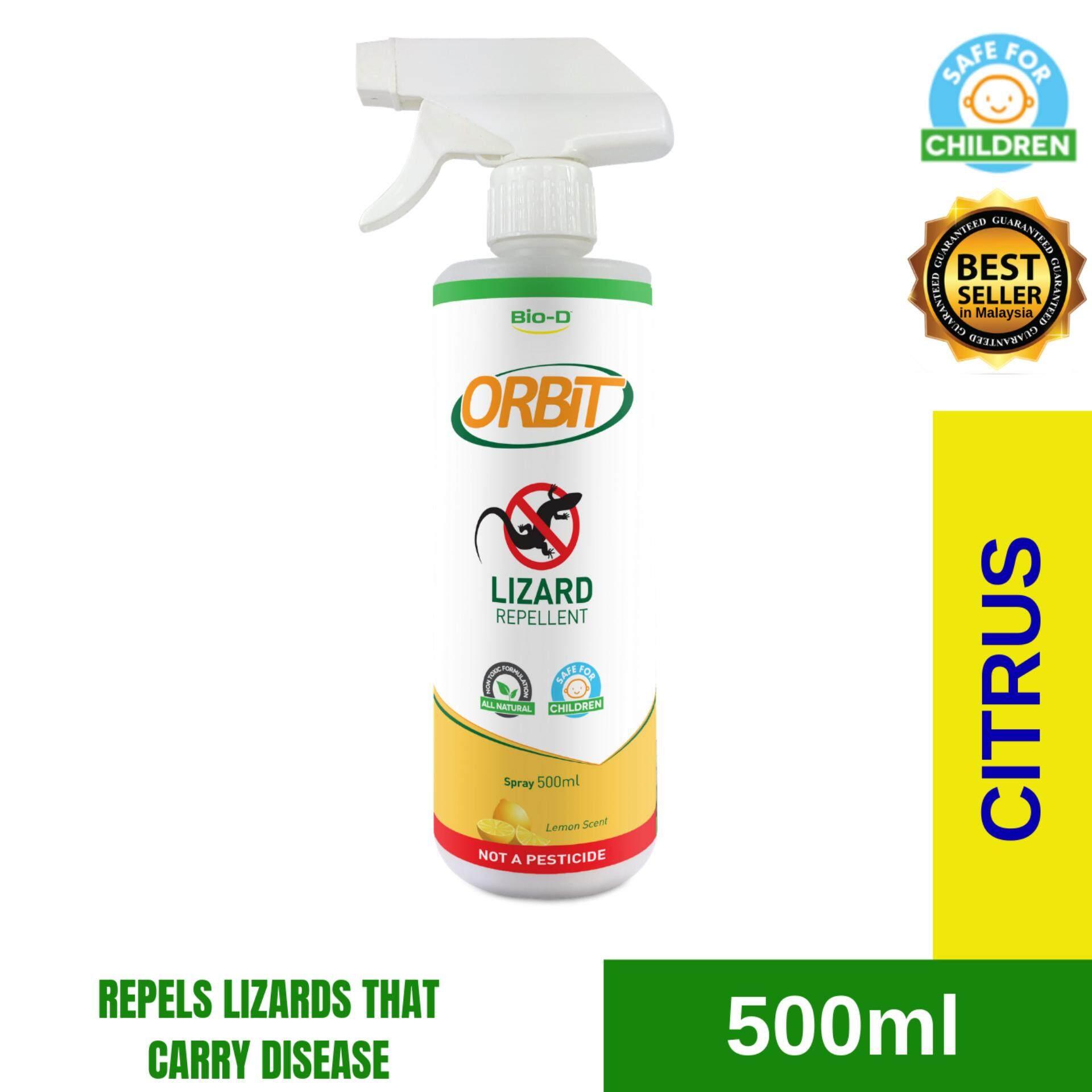Bio-D Orbit Lizard Repellent 500ml Spray (Citrus Lemon)