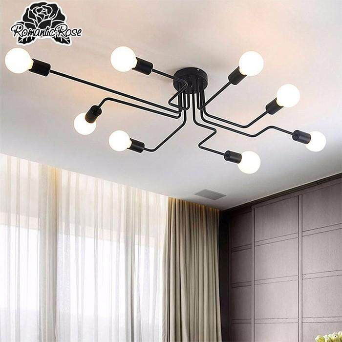 Lights & Lighting Golden Track Light Rail Spotlights 110v 220v Coffee Cloth Shop Art Gallary Picture Mirror Lighting Adjustable Ceiling Spot Light Great Varieties Ceiling Lights & Fans
