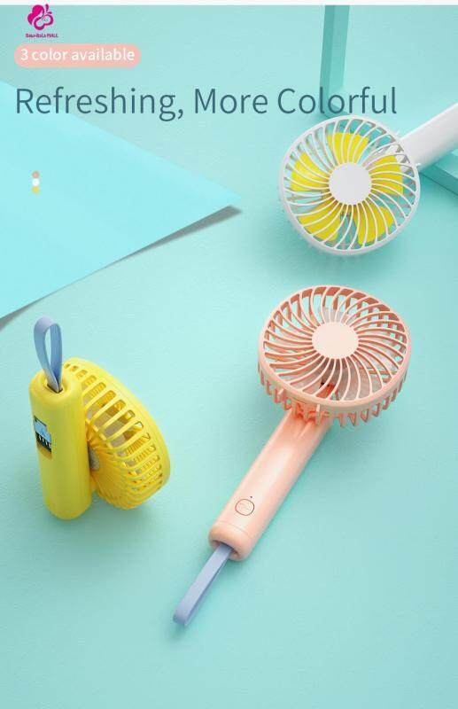 Baby-Bala Mall Handheld Fan Portable Summer Cooling Fan with 3 Speed Mode Singapore