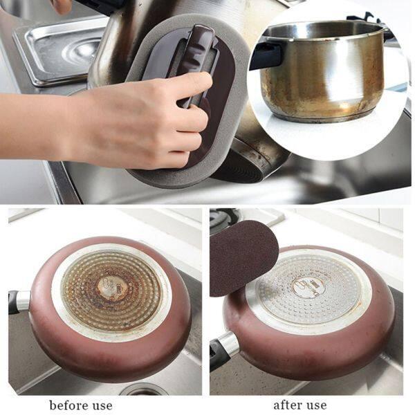 Bền Magic Universal Gạch Bàn Chải Bàn Chải Tắm Vòi Rửa Mạnh Dụng Cụ Vệ Sinh Nhà Bếp