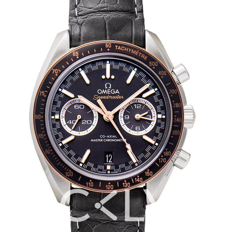 Authentic Omega Speedmaster Racing Co‑Axial Master Chronometer Chronograph 44.25mm Automatic Grey Dial Steel Men's Watch 329.23.44.51.06.001