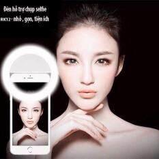 Đèn LED kẹp điện thoại N01 hỗ trợ chụp hình Selfie Detek Cực Đẹp ( Khanh LInh ) ( Thanh Thủy Story )